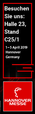 Hannover Messe 2019 Halle 23, Stand C25/1