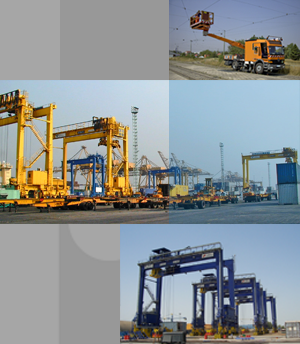 Application example: mobile cranes